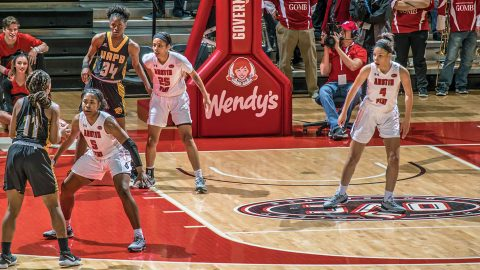 Austin Peay Women's Basketball unable to overcome Ball State's defensive pressure in 89-57 loss Monday. (APSU Sports Information)