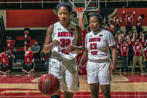 Austin Peay Women's Basketball gets 69-59 win over Eastern Illinois at the Dunn Center Saturday afternoon. (APSU Sports Information)