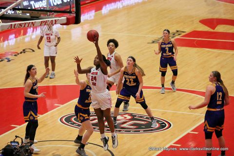 Austin Peay Women's Basketball loses at home to Western Illinois Saturday afternoon, 81-66.