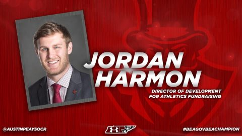 Jordan Harmon named Austin Peay Director of Athletics Development. (APSU Sports Information)