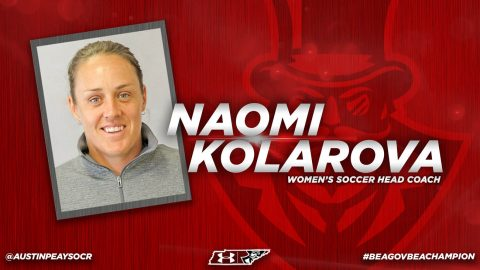 Austin Peay State University Women's Soccer head coach Naomi Kolarova. (APSU Sports Information)