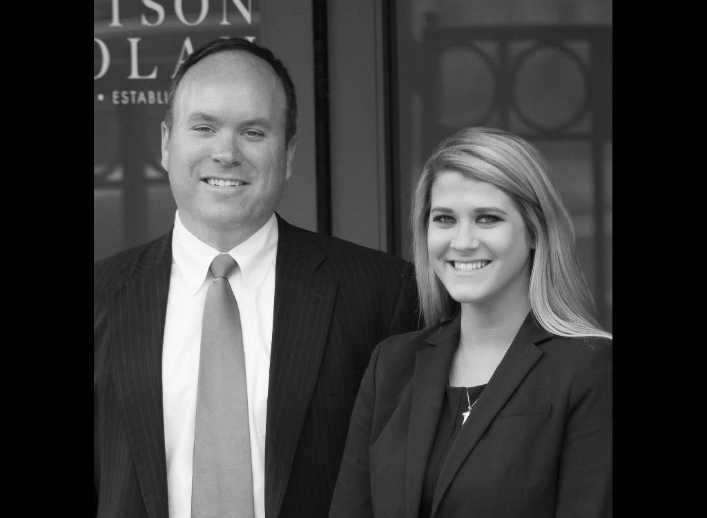 John Crow and Lauren Safley, Estate Planning Team at Batson Nolan Attorneys at Law.