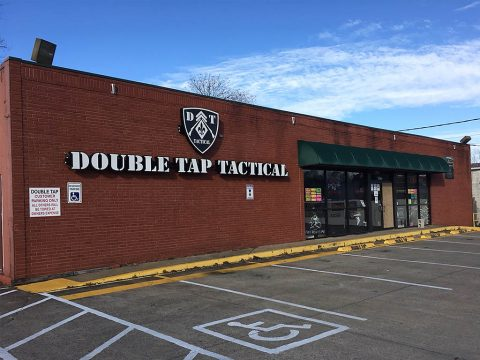 Double Tap Tactical on Riverside Drive was broken into Christmas morning.