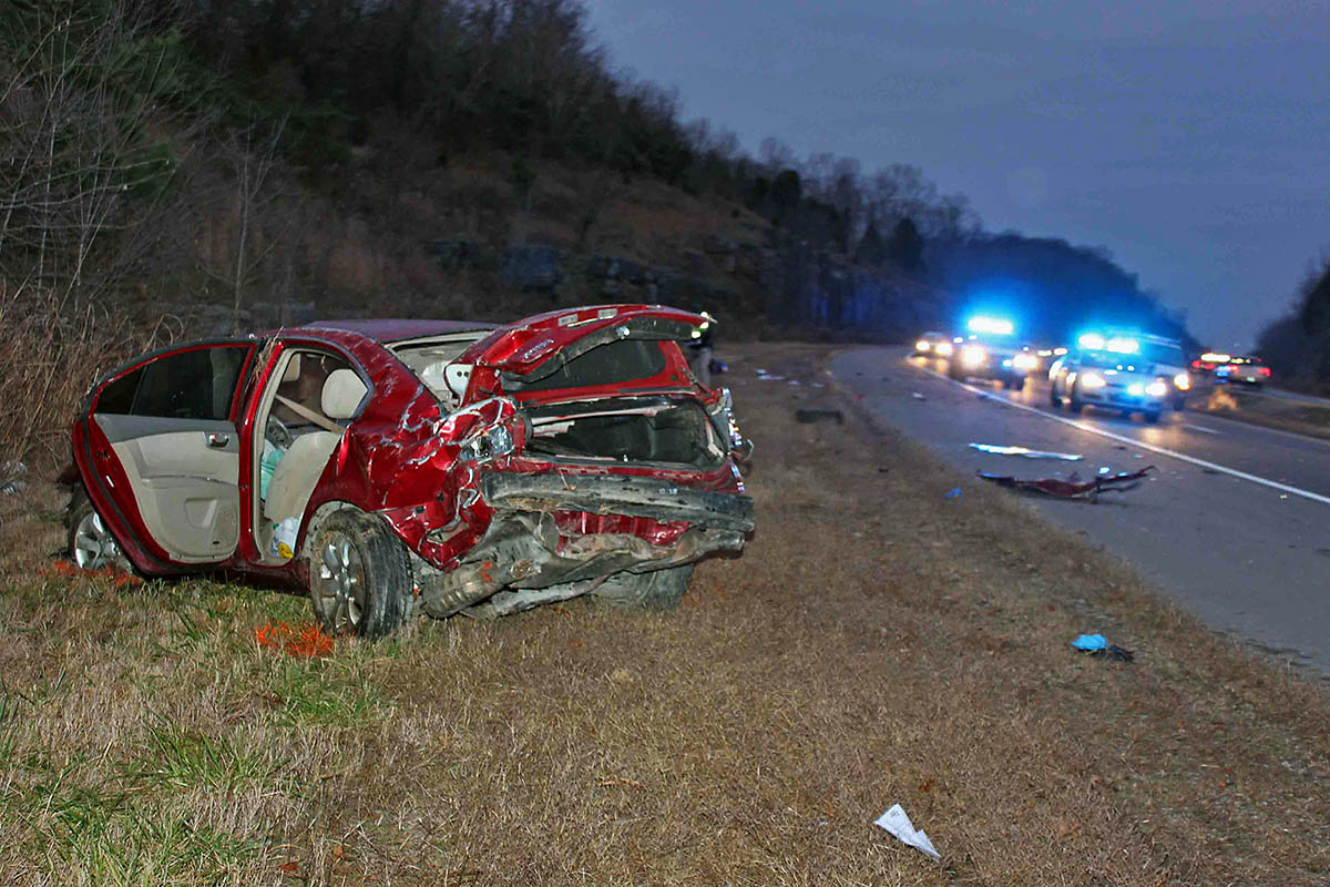Clarksville Police Responded To A Car Accident Where A Kia Optima
