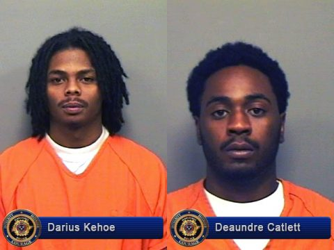 Darius Kehoe and Deaundre Catlett