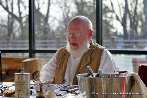 A presentation on life in the 1800's at Fort Defiance this weekend, with guest speaker Mark Britton.