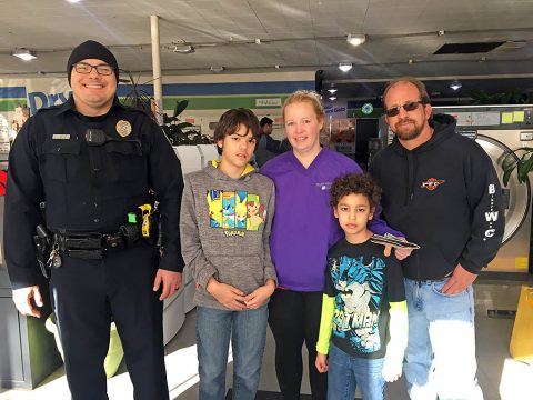 Bikers Who Care (BWC) partnered with the Montgomery County Sheriff's Office (MCSO) and Clarksville Police Department to pass out Christmas cash to unsuspecting residents.