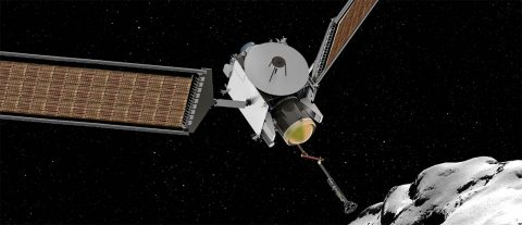 The CAESAR (Comet Astrobiology Exploration SAmple Return) mission will acquire a sample from the nucleus of comet Churyumov-Gerasimenko, returning it safely to Earth. Comets are made up of materials from ancient stars, interstellar clouds, and the birth of our solar system. The CAESAR sample will reveal how these materials contributed to the early Earth, including the origins of the Earth's oceans, and of life. (NASA)
