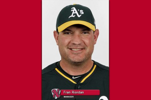 Nashville Sounds manager Fran Riordan