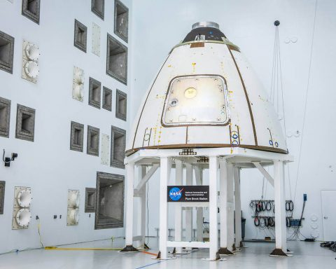 Engineers are currently testing a critical component of NASA's Orion spacecraft at the Reverberant Acoustic Test Facility at NASA Glenn Research Center's Plum Brook Station in Sandusky, Ohio. (NASA)