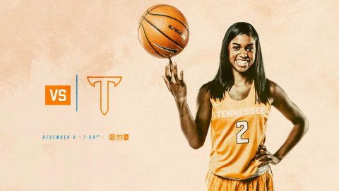 Tennessee Women's Basketball plays Troy at Thompson-Boling Area on Wednesday, December 6th at 6:00pm CT. (Tennessee Athletics)