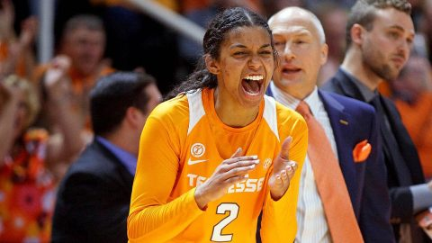 Tennessee Women's Basketball holds off Texas Sunday afternoon at Thompson-Boling Arena. (Tennessee Athletics)