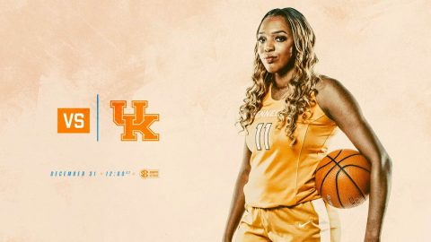 Tennessee Women's Basketball travel to Kentucky Sunday to take on the Wildcats at Rupp Arena in Lexington. Tip off is at 11:02am CT. (Tennessee Athletics)
