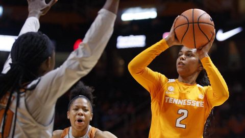 Tennessee Women's Basketball gets 63-49 win at Kentucky to improve to 13-0 on the season. (Tennessee Athletics)