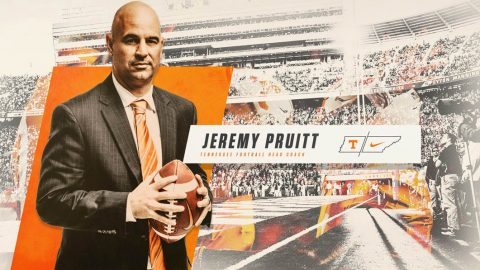 Tennessee Vols Football new Head Coach Jeremy Pruitt. (Tennessee Athletics)