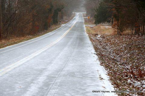 Hazardous road conditions exist tonight across Clarksville-Montgomery County.