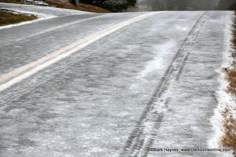 Clarksville-Montgomery County roads are becoming hazardous.