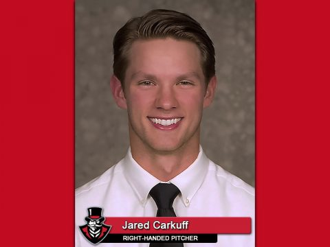 Former APSU Baseball pitcher Jared Carkuff