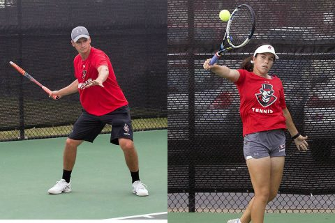 Austin Peay Men and Women's Tennis begin Spring Season. (APSU Sports Information)