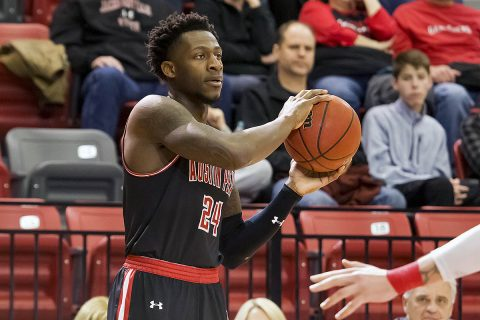 Austin Peay Men's Basketball takes down OVC Defending Champion Jackson State on the road Saturday. (APSU Sports Information)