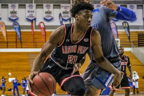 Austin Peay Men's Basketball unable to get road win at Tennessee State Thursday afternoon. (APSU Sports Information)