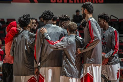 Austin Peay Men's Basketball takes on defending OVC regular-season champion Belmont this Saturday in Nashville. (APSU Sports Information)