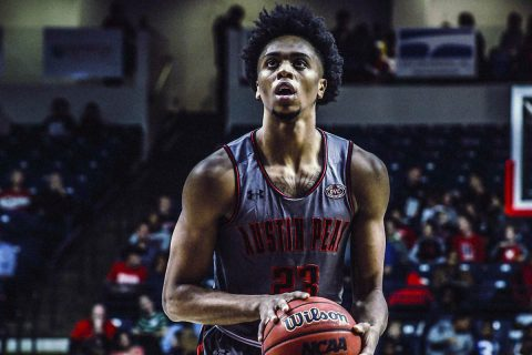 Austin Peay Men's Basketball unable to slow down hot shooting Belmont Bruins Saturday night. (APSU Sports Information)