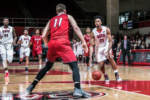 Austin Peay Men's Basketball hosts Eastern Kentucky Colonels Thursday night at the Dunn Center. Tip off is at 7:30pm. (APSU Sports Information)