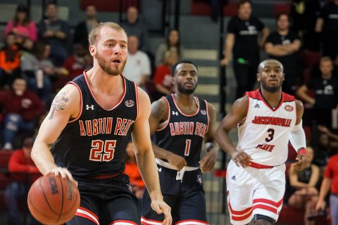 Austin Peay Men's Basketball hosts Morehead State at the Dunn Center, Saturday. Tip off is at 7:00pm. (APSU Athletics)