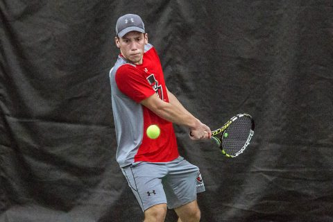 Austin Peay Men's Tennis falls 5-2 to Chattanooga Saturday at the Governors Tennis Courts. (APSU Sports Information)