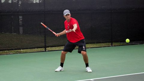 Austin Peay Men's Tennis begins the 2018 season at the Middle Tennessee Blue Raiders Monday. (APSU Sports Information)