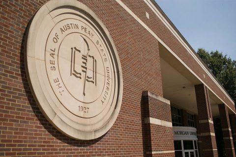 Austin Peay State University Morgan University Center. (APSU)