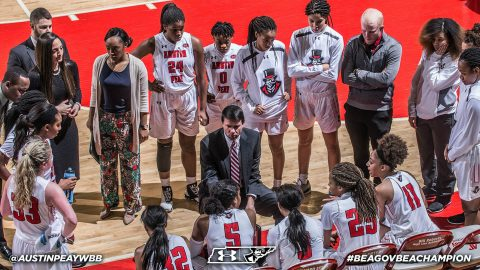 Austin Peay Women's Basketball hosts UT Martin Skyhawks at the Dunn Center Wednesday night. Tip off is at 7:00pm. (APSU Sports Information)