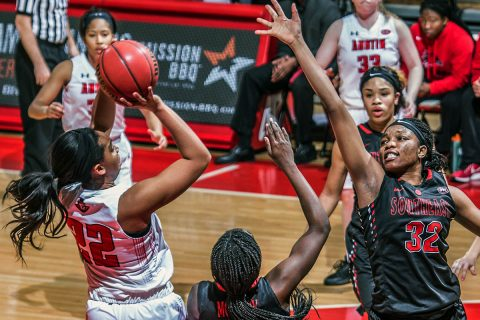 Austin Peay Women's Basketball hits the Thursday to take on the Tennessee Tech Golden Eagles at the Eblen Center. Tip off is at 5:30pm CT. (APSU Sports Information)