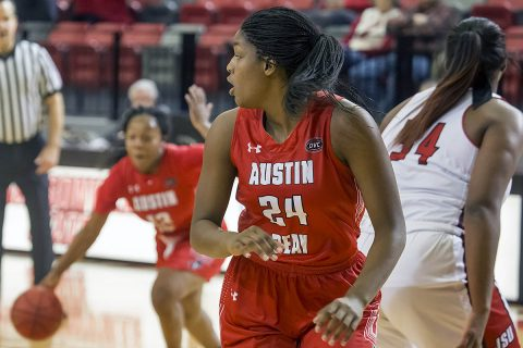 Austin Peay Women's Basketball loses to Jacksonville State Saturday afternoon. (APSU Sports Information)