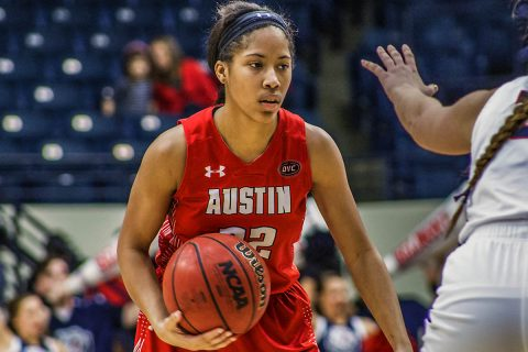 Austin Peay Women's Basketball comes up short against Belmont Bruins, 78-75. (APSU Sports Information)