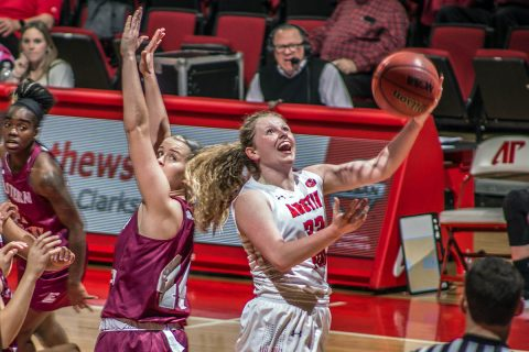 Austin Peay Women's Basketball junior guard Falon Baker had a career high 25 points in win over Eastern Kentucky. She also had two blocks and three steals. (APSU Sports Information)
