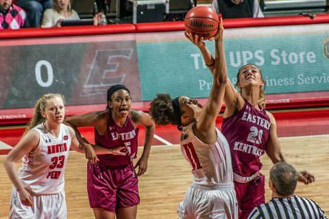 Austin Peay Women's Basketball looks to defend their homecourt Saturday afternoon against Morehead State. Tip off is at 4:30pm. (APSU Sports Information)