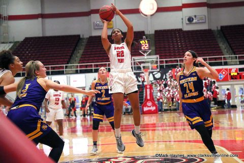 Austin Peay Women's Basketball plays UT Martin at the Dunn Center Wednesday night. Tip off is set for 7:00pm. (APSU Sports Information)