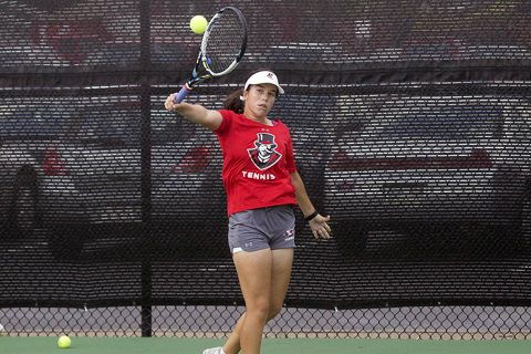 Austin Peay Women's Tennis falls to Middle Tennessee Blue Raiders Sunday afternoon. (APSU Sports Information)