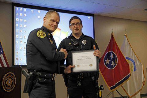CPD Officer Brandan Hendricks