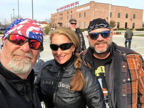 Hank with Michael Noirot And Tracy Bettencourt