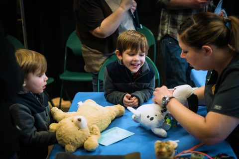 Nashville Zoo's third annual Teddy Bear Clinic to be held Saturday, February 10th.