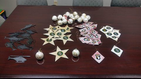 Ornaments designed by the S2S students