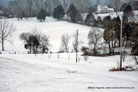 Winter storm brings snow, hazardous travel conditions.