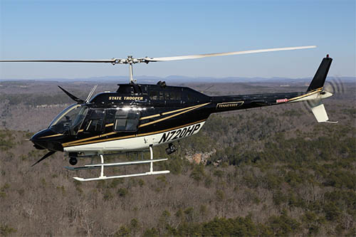 Tennessee Highway Patrol Aviation searching for missing hikers.
