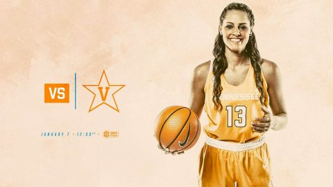 Tennessee Women's Basketball takes on rival Vanderbilt Commodores Sunday at Thompson-Boling Arena. Tip off is set for 11:02am CT. (Tennessee Athletics)