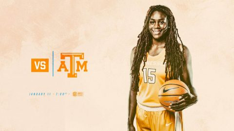Tennessee Women's Basketball plays Texas A&M Thursday at Reed Arena. Tip off is at 6:10pm CT. (Tennessee Athletics)