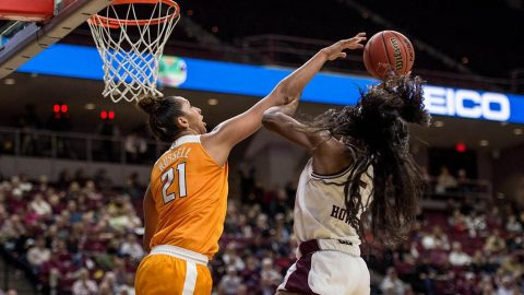 Tennessee Women's Basketball falls to the Texas A&M Aggies in overtime 79-76 Thursday night. (Tennessee Athletics)