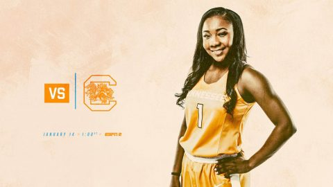 Tennessee Women's Basketball travels to South Carolina Sunday to take on the Gamecocks at Colonial Life Arena. Tip off is at 12:02pm CT. (Tennessee Athletics)